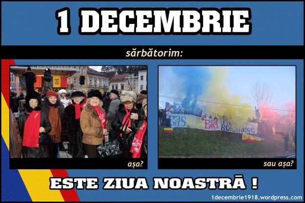 1 decembrie 2011 Alba Iulia Marea Unire program